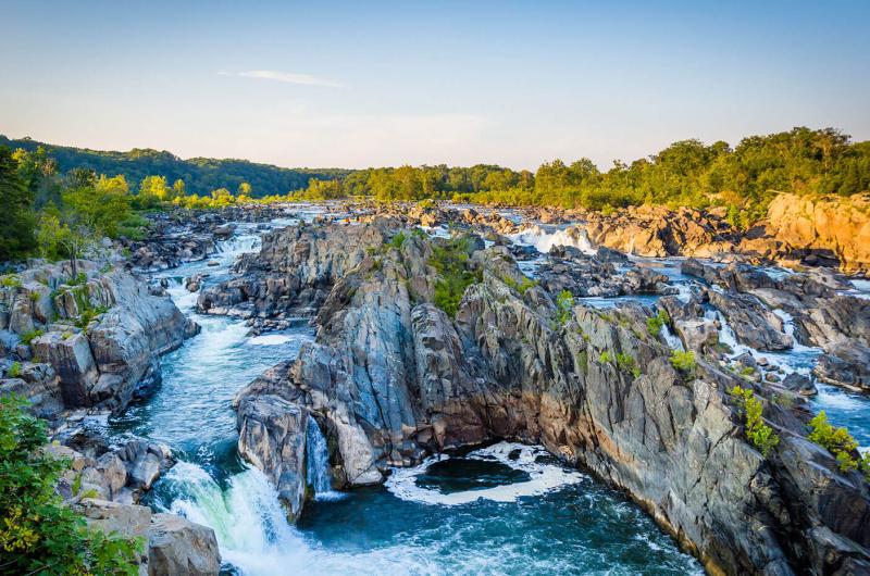 Large rapids in Virginia